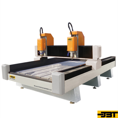 Double Axis Stone Carving Machine