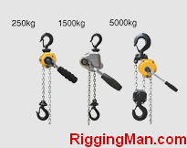 Subminiature Hand Chain Lever Hoist