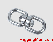 STAINLESS STEEL SWIVEL EYE AND EYE
