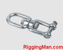 STAINLESS STEEL SWIVEL EYE AND JAW